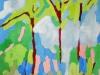 """FM Vettergreen, \""""Black Poplar; oil and wax on panel, 24 x 24\"""""""